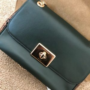 Coach Cassidy snake embossed purse